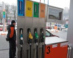 В Киеве выросли розничные цены на светлые нефтепродукты