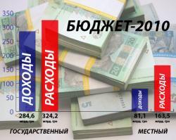 Рада приняла отчет Минфина о выполнении госбюджета-2010