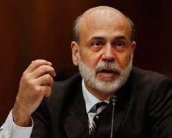 Б.Бернанке: Высокий уровень безработицы угрожает экономике США