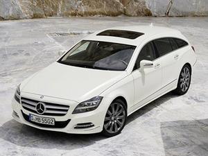 Preview универсала Mercedes-Benz CLS