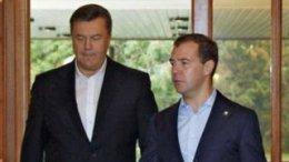 Янукович переговорил с Медведевым в неформальной обстановке