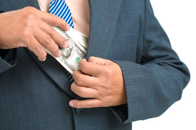 О коррупции на уровне бюджетного процесса.