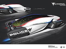 BMW показала полицейские авто будущего