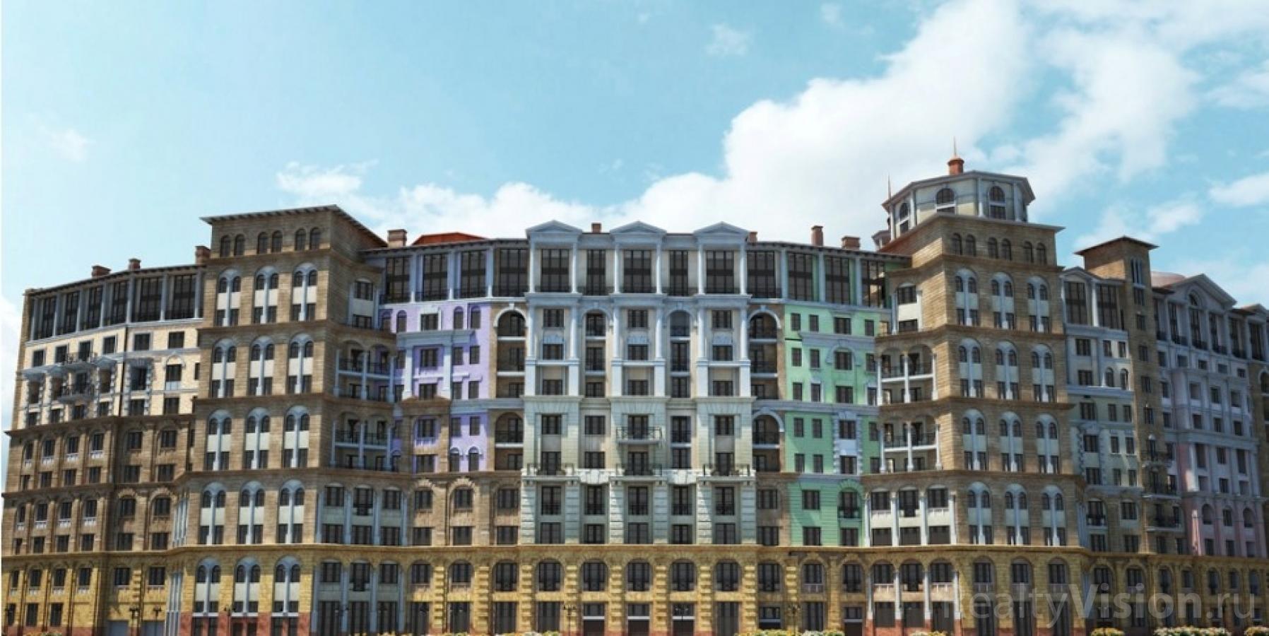 Итальянский квартал — новый Московский жилой комплекс