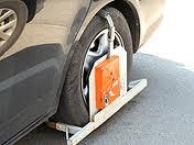 Блокировка колес автомобилей теперь незаконна