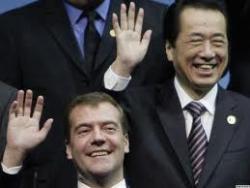 """Премьер Японии обозвал Медведева """"грубияном"""""""