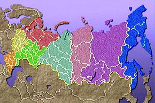 Россия может развалиться на 8 государств к 2015 году