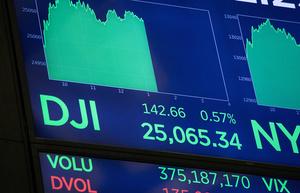 Индекс Dow Jones достиг новой рекордной отметки