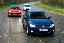 Mazda 3, Hyundai Elantra, Volkswagen Jetta: сравнить и купить