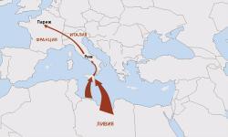 Армия М.Каддафи готовит высадку на Сицилии, чтобы двинуть на Рим