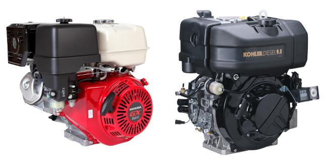 Сравнение бензиновых и дизельных генераторов