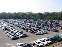 В Киеве громят автомобильный рынок
