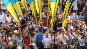 Украинцам демократия неинтересна