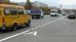 В Киеве появится полоса для маршруток