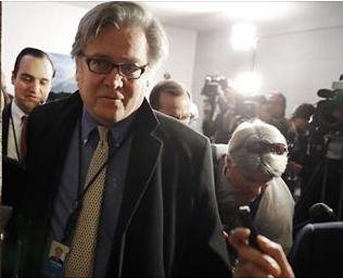 Стив Бэннон был лишен статуса постоянного члена Совета Национальной Безопасности.