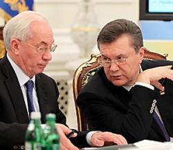Янукович против Азарова