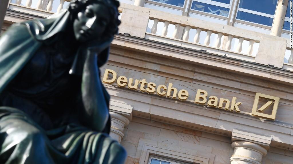 Квартальная прибыль Deutsche Bank сократилась на 98%