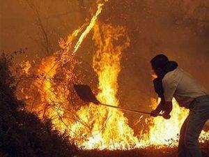 Юг Италии продолжает гореть
