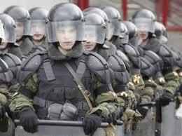 Милицию готовят к разгону протестов