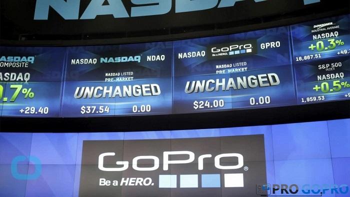 Акции GoPro упали ниже цены размещения