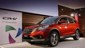 Японцы выкатили кроссовер Honda CR-V для Европы