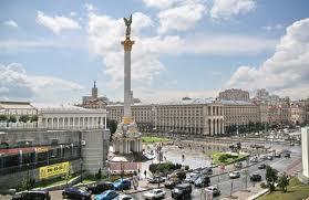 График перекрытия центральных улиц Киева