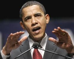 Б.Обама продлил на год односторонние экономические санкции в отношении Ирана