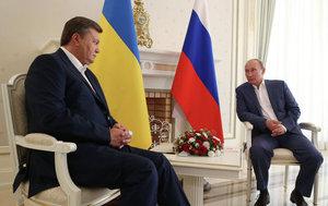 Янукович поговорил с Путиным об отказе от торговых ограничений с Россией