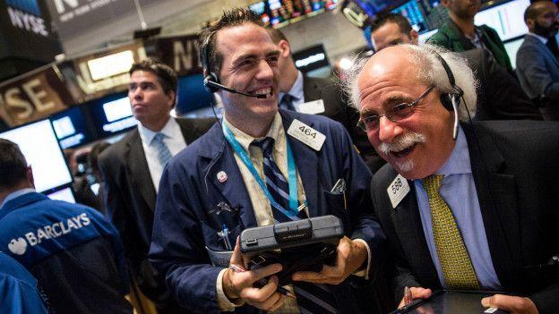 Американские акции резко выросли