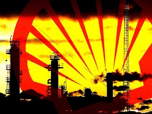 Относящаяся к акционерам прибыль Shell сократилась на 80%