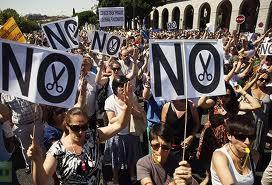 Испания восстала против экономии