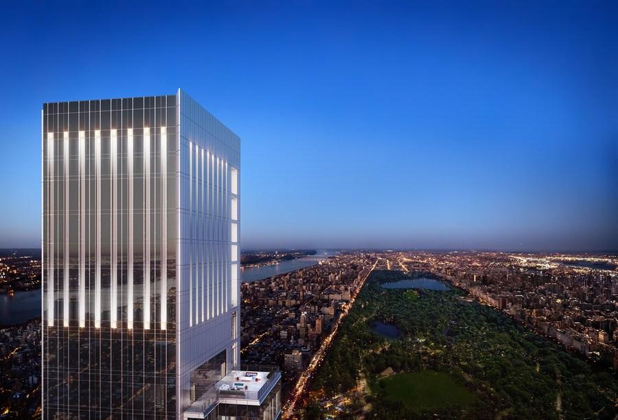 Новой визитной карточкой Нью-Йорка имеет шансы стать Central Park Tower