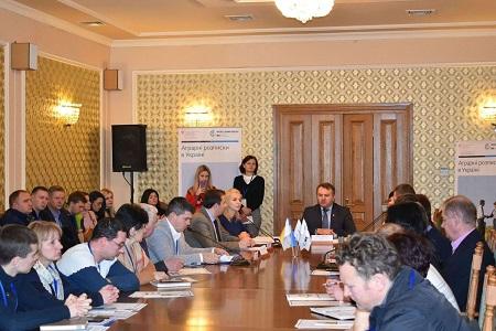 Аграрні розписки пішли на захід України