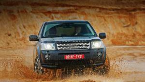 Меряем лужи обновлённым кроссовером Land Rover Freelander 2