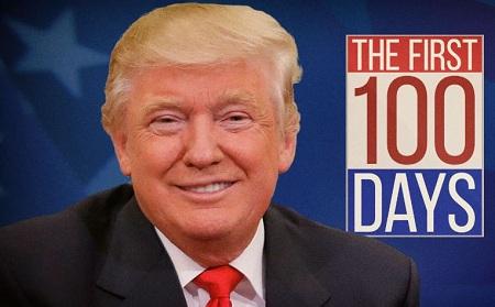 Что сделал Трамп за первые 100 дней со дня инаугурации