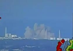 Японская Атомная электростанция Фукусима-1 - взорвалась (ВИДЕО)