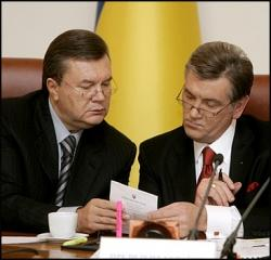 Янукович взял Ющенко на работу