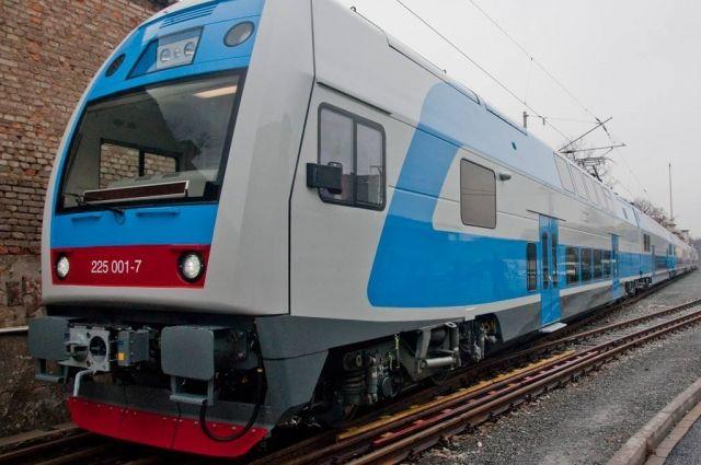 Новый поезд «Skoda» испытывали в Виннице