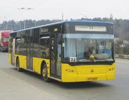 В Киеве внесены изменения в схемы движения автобусов
