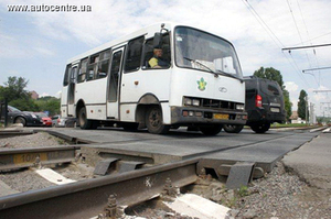 Новые штрафы за нарушение правил проезда ж/д переездов