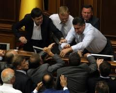Украину дернули за язык