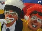 Клоуны собрались на Олимпиаде в Мексике