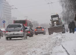 Снегопады добрались и до Украины