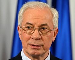 Н.Азаров выступает за создание СП на базе