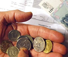 Падение платежеспособности россиян