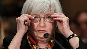 Доллар опустился до сентябрьского минимума на фоне заявлений Йеллен