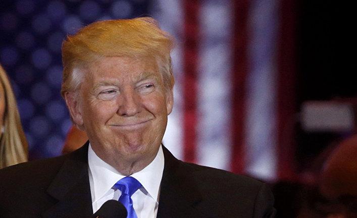 Трамп озвучил свои планы на первые 100 дней президентства