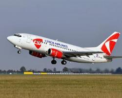 Чешская авиакомпания отрывает рейсы из Праги во Львов, Донец и Харьков