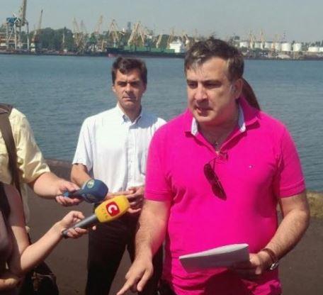 О Пивоварском, Саакашвили и портах