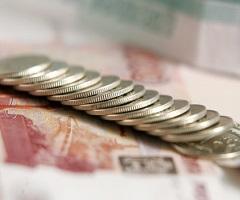 Курс рубля сильно упал из-за евро